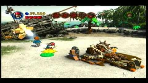 Lego Pirates of the Caribbean - Part 1 of Isla Cruces