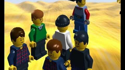 Lego SpongeBob SquarePants the Series Episode 2 The Pictureteriume (South Park Homeage)