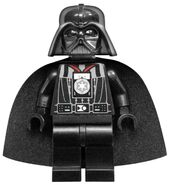 Darth Vader with medal