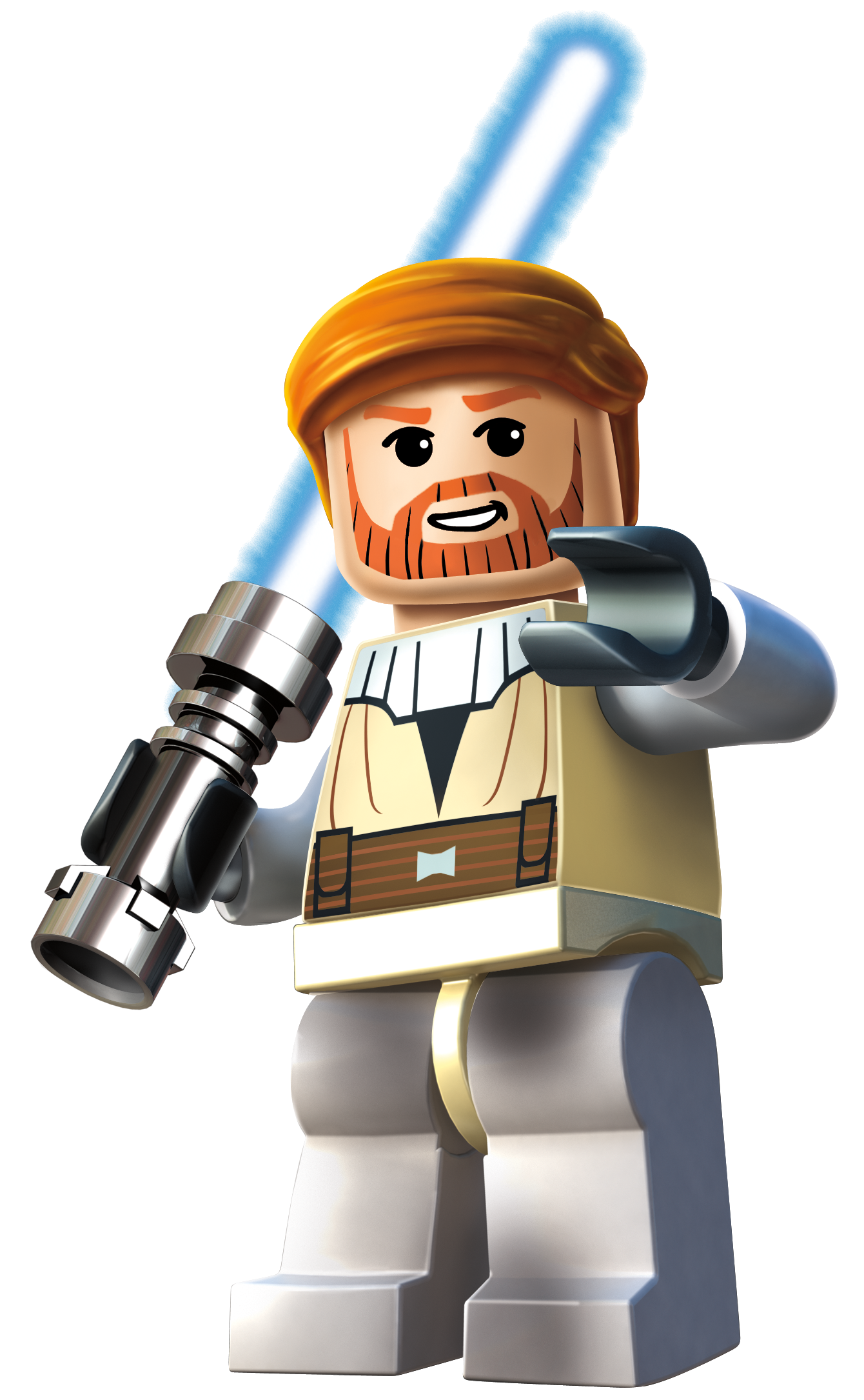 Episode ii sticker custom stickers lego decals obi wan obiwan lsw3 png