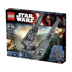 Kylo Ren's Command Shuttle boxed