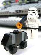 Mouse Droid and Stormtrooper