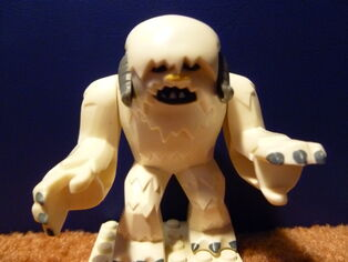 Wampa from Lego