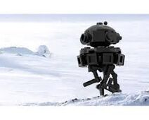 Imperial probe droid lego