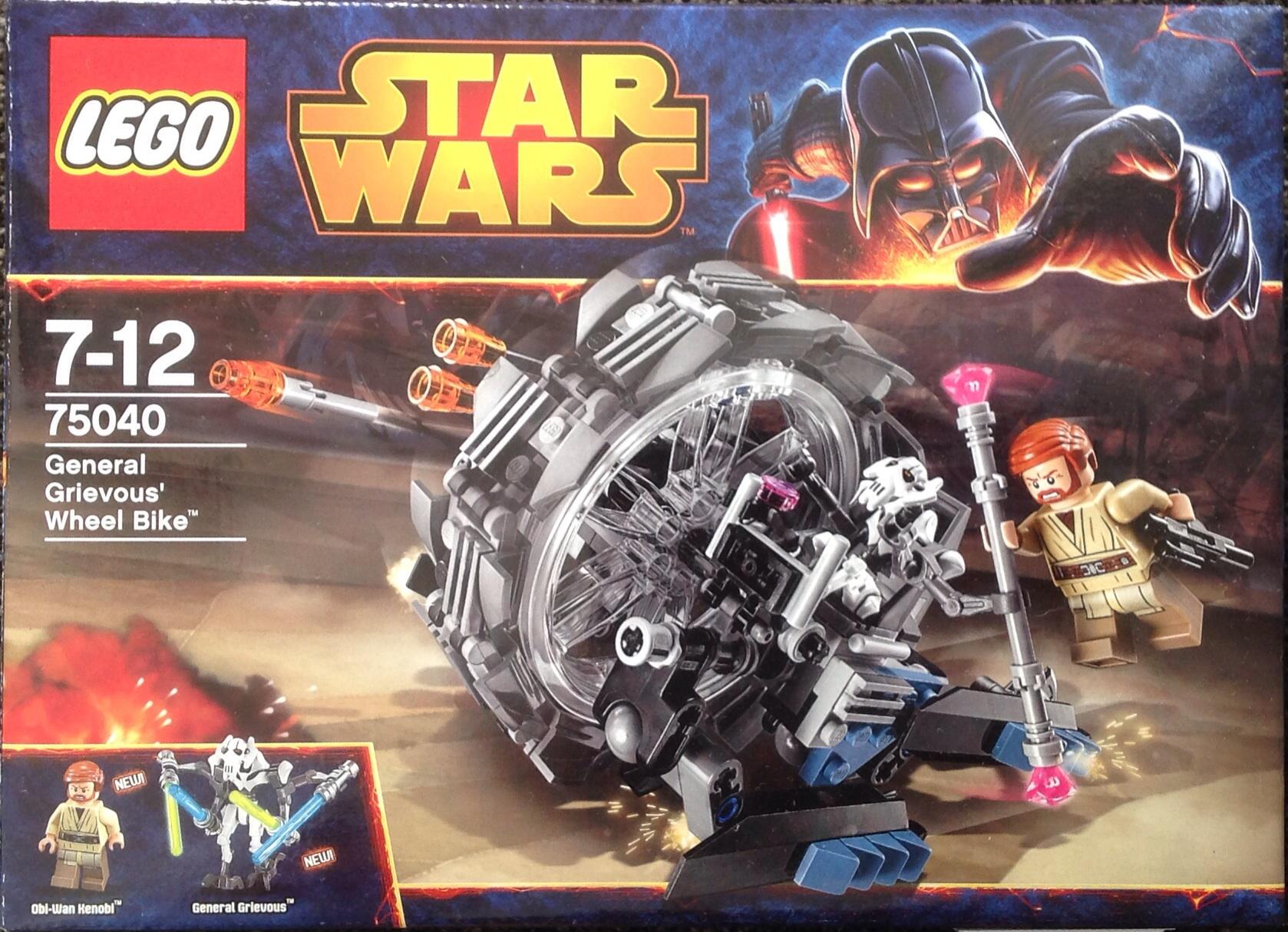 75040 General Grievous Wheel Bike  Lego Star Wars Wiki  FANDOM