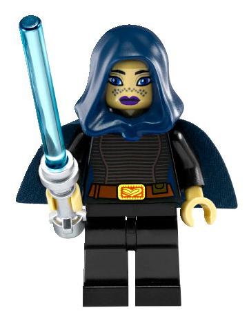 8091 Swamp Speeder Star Wars Torso Barris Offee Black Female NEW LEGO