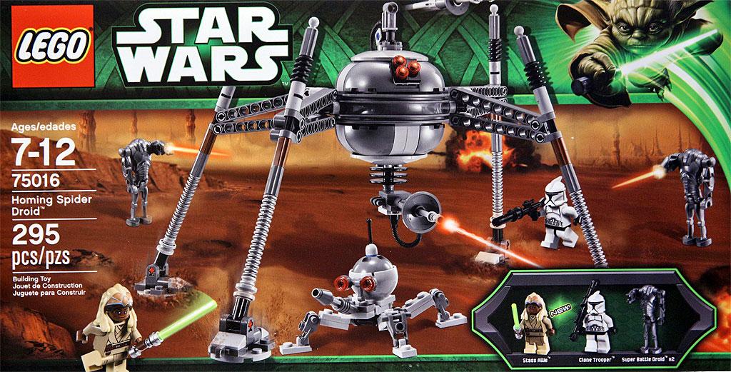 75016 Homing Spider Droid | Lego Star Wars Wiki | FANDOM powered ...