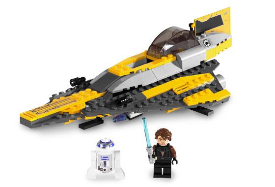 anakins jedi starfighter - Lego Star Wars Vaisseau Clone
