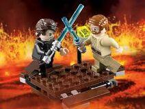 LEGO Star Wars Anakin VS Obi-Wan