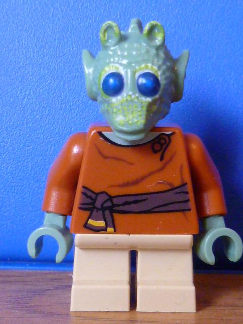 Lego Star Wars Rodian Wald Head x 1 for Minifigure
