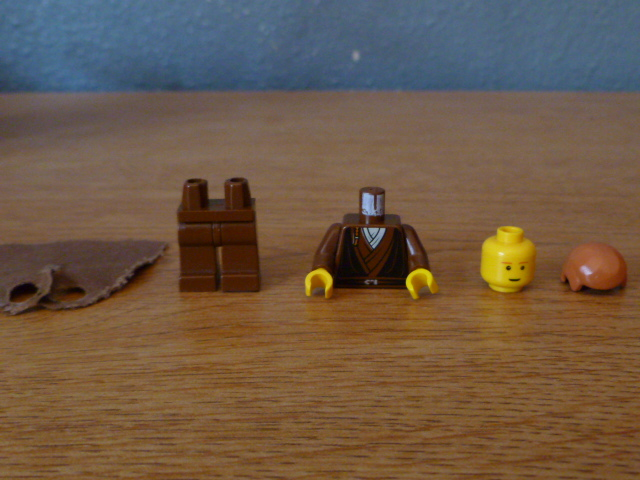 LEGO 2 Pairs of Orange Minifig Legs Minifigure Body Parts