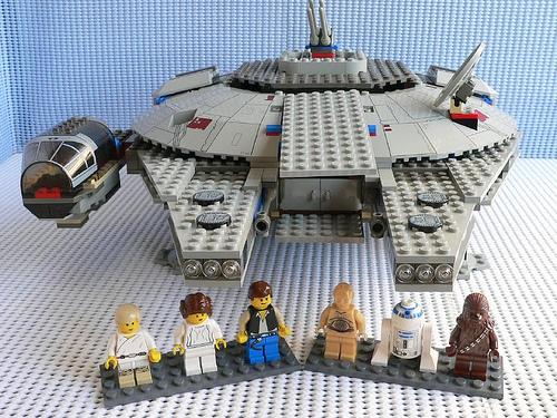 Image 7190 Millennium Falcong Lego Star Wars Wiki Fandom