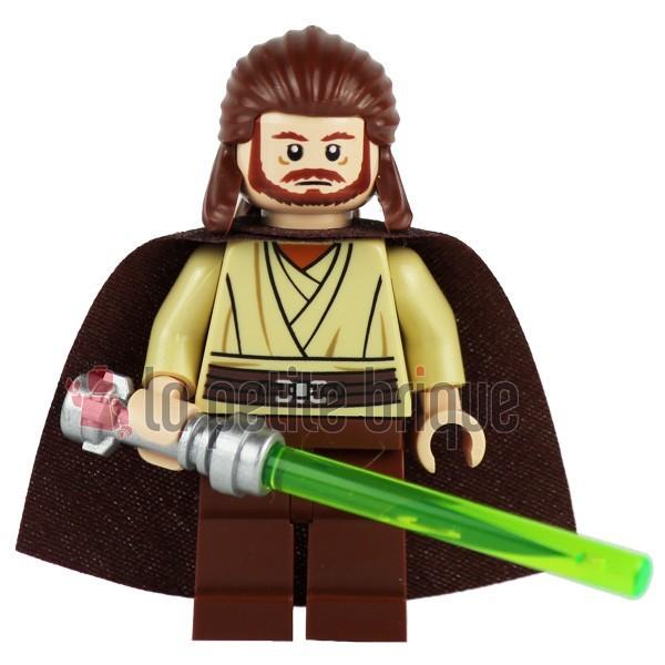 Lego Figur Star Wars Qui-Gon Jinn LEGO Minifiguren