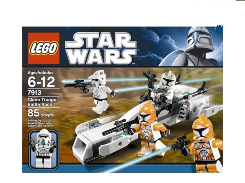 LEGO STAR WARS 7913 Clone Trooper Minifigure New