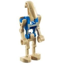 LEGO Star Wars Minifigure Battle Droid  Blue Pilot