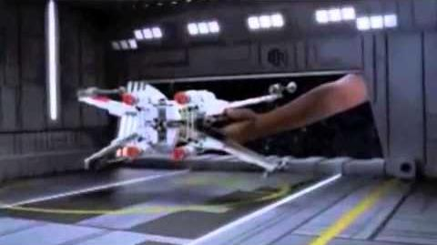 LEGO Star Wars - Luke's Xwing 2012 TV Ad