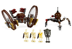 HAILFIRE DROID AND SPIDER DROID pic