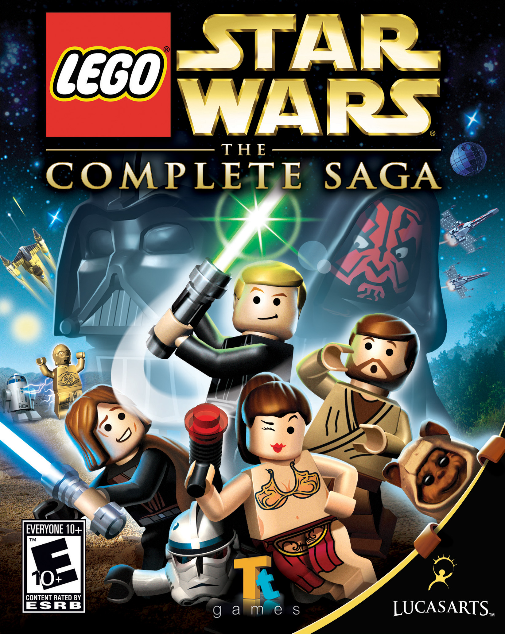 Lego Star Wars The Complete Saga Lego Star Wars Wiki Fandom