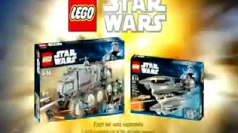 Lego Clone wars Turbo Tank Commercial