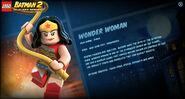 Wonder Woman LB2 stats