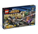 6864 Batmobile and the Two-Face Chase