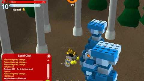 LEGO Universe DEV Walkthrough - Unreleased Version - Part 33 - MegansHouseOfHorrors