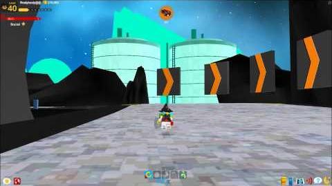 LEGO Universe - Nimbus Station Racetrack (Testmap)