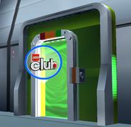 LEGO Club Door 1