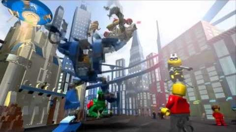The first LEGO Universe trailer