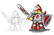 Kingdoms concept knightcharacter