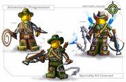 Level 2 adventurer layout