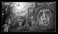 Halloween-scenebw