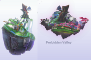 Early forbidden valley designs