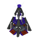 Skeleton Ziggurat Model