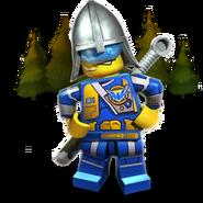 Sentinel guard rendered