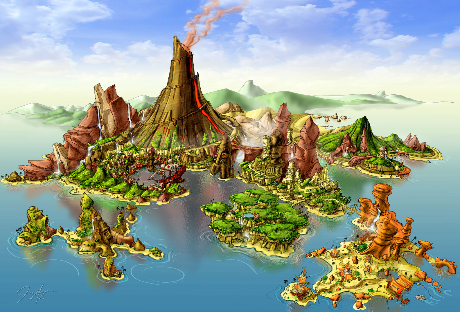 Treasure Island Final Test