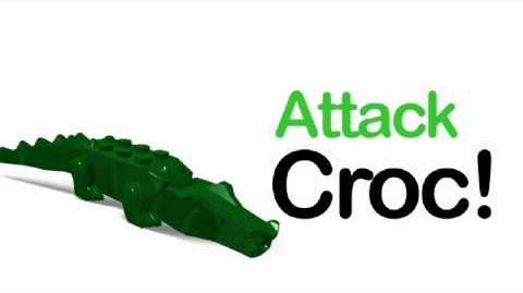 LEGO Universe - Attack Croc Promo Trailer
