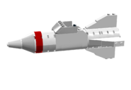White Classic Rocket