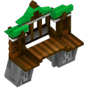 Fortress Wall Gate