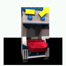 Mission brick donation machine