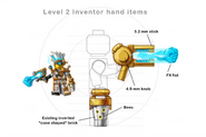 Rank 2 inventor hand items concept