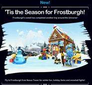 Tis the season for Frostburgh