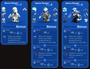 Space Ranger Bonuses