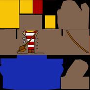 Torso pirate-vendor