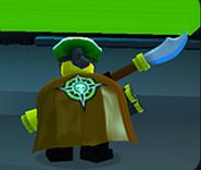Buccaneer With Venture Cape