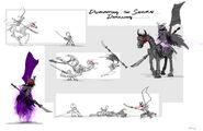 Samurai stromling horse sequence