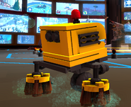 Broombot in-game