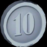 Pre-Alpha Silver Coin ''10''