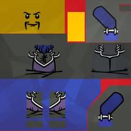 Torsos Ninjago Guard Blue I5