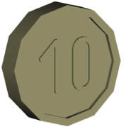 Pre-Alpha Generic Coin ''10''